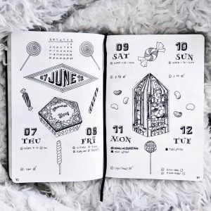 Part 1 65 Spellbinding Harry Potter Spreads My Inner Creative Bullet Journal Ideas Pages Bullet Journal Harry Potter Journal