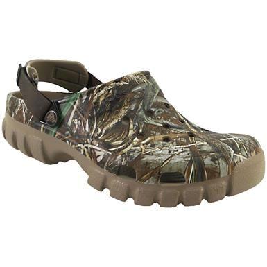 Mens Womens Beach Sandals Fashion Unisex Duet Sport Clogs-croc Real tree Shoes