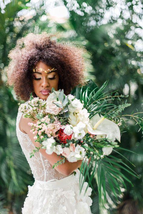 A Soft Tropical Wedding In A Caribbean Villa