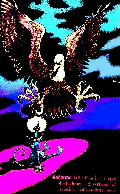 IF I WAS ALONE BLACK LIGHT PSYCHEDELIC VINTAGE POSTER GARAGE 1970 DAMAGE CNG1799