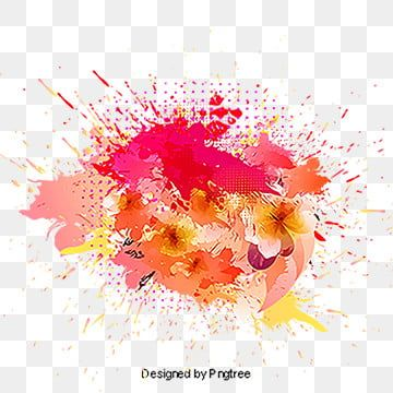 Paint Splash Ink Brush Watercolor Png Transparent Clipart Image And Psd File For Free Download Paint Splash Watercolor And Ink Yellow Painting