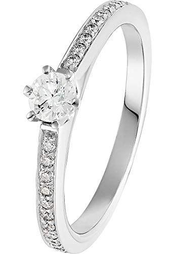 CHRIST Diamonds Damen Ring 585er Weißgold Damenring der