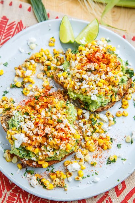 Esquites (Mexican Corn Salad) Avocado Toast #avocado #avocado recipes #avocado salad #avocado smoothie #avocado toast #avocat farci #avocat noyau #avocat recette #avocat salade #corn #Esquites #Mexican #salad #Toast