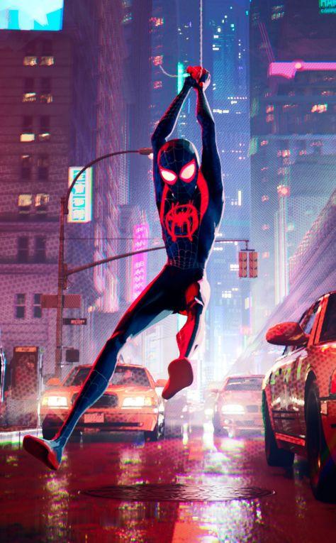 Movie, spider-man, Spider-Man: Into the Spider-Verse, 950x1534 wallpaper