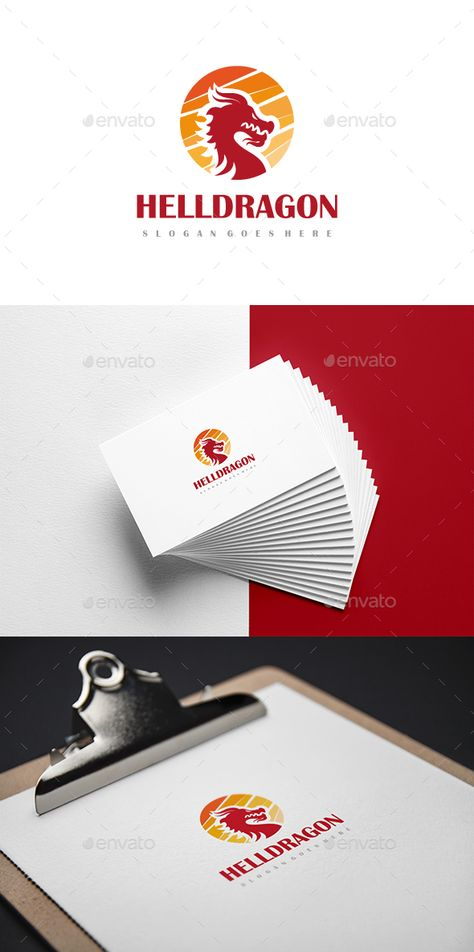 Dragon Logo Animals Templates Fully Editable Eps 10 Cs6 And Ai Files Cmyk Easy To Change Color Text Font Information At