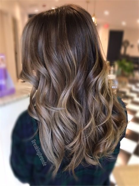 Color Correction Banded And Brassy To Ash Melt Color Correction Hair Color Melting Hair Brunette Hair Color