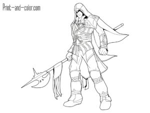 10 Assassin S Creed Coloring Pages Ideas Assassin S Creed Creed Assassin