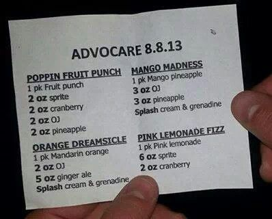 Great #AdvoCare #Spark #recipes to enjoy! Order Spark at www.itsthatstuff.com