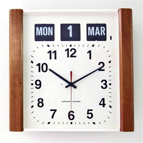 The Best Clocks For Those With Alzheimer S Research Has Shown That Analog Clocks Remain Recognizable Longer For Those W Clock Wall Clock With Date Wall Clock