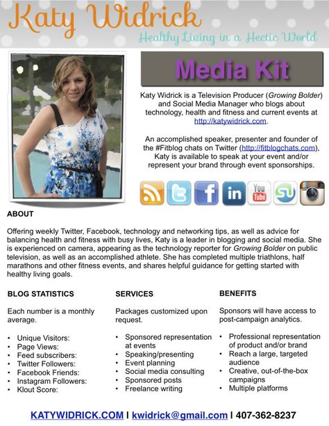 Create or update a media kit \/\/ Content is from 2010 - only the - television producer sample resume