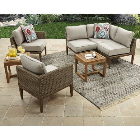 Patio Garden Sectional Patio Furniture Wicker Outdoor