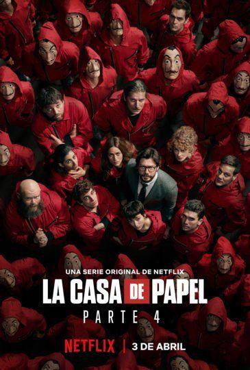 La Casa De Papel Saison 4 Streaming : papel, saison, streaming, Papel, Saison, Streaming, Gratuit, Affiches, Photo,, D'ecran, Pastel
