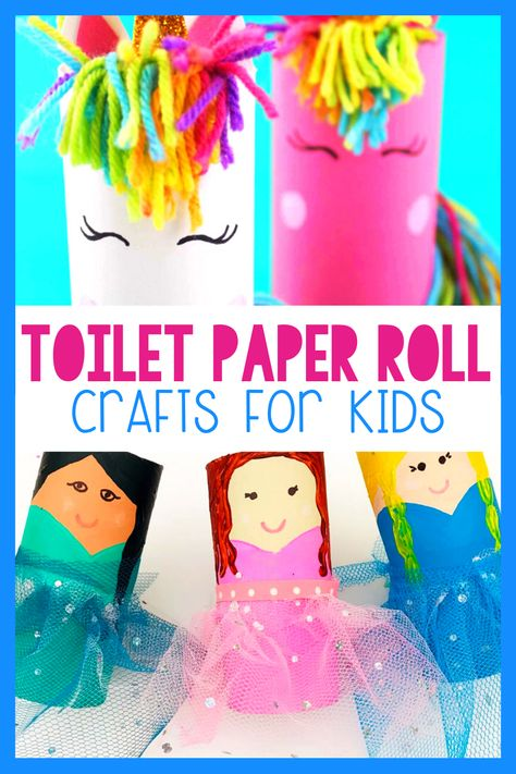 Need a use for all those toilet paper rolls???