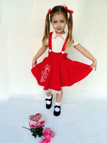 Don't forget the heart suspenders - Kids' Valentine's Day Clothes That'll Make You Swoon - Photos