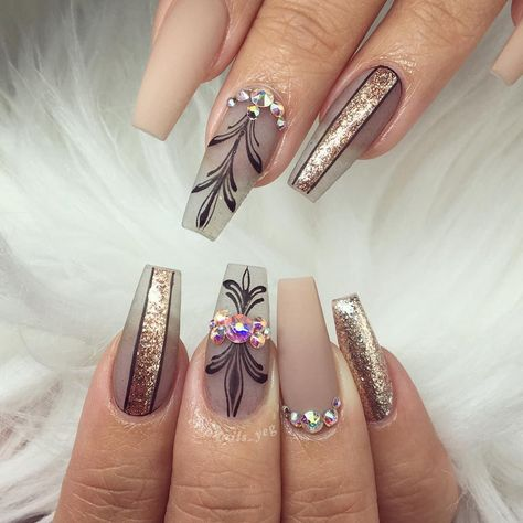 Newest Coffin Nails Designs 2018 Coffin nails are becoming more and more popular these days. Even though it's name seemed scary, most women still pursue this style. Coffin nails are…