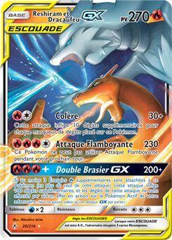 Reshiram Et Dracaufeu Gx Cool Pokemon Cards Pokemon Tcg