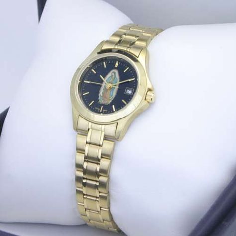 GENEVE Women's Gold-Tone Swiss-Quartz Our Lady of Guadalupe Watch. Model: GE-4001 Geneve. Save 76 Off!. $54.95