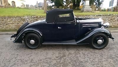 1935 Vauxhall Light Six 2 Door 4 Seater Roadster With Coachwork By Duple Vintage Cars Vauxhall Roadsters