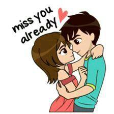 Hasi Cute Love Cartoons