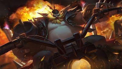 Gragas Vandal Wallpaper Lol Wild Rift League Of Legends Champions League Of Legends Artwork