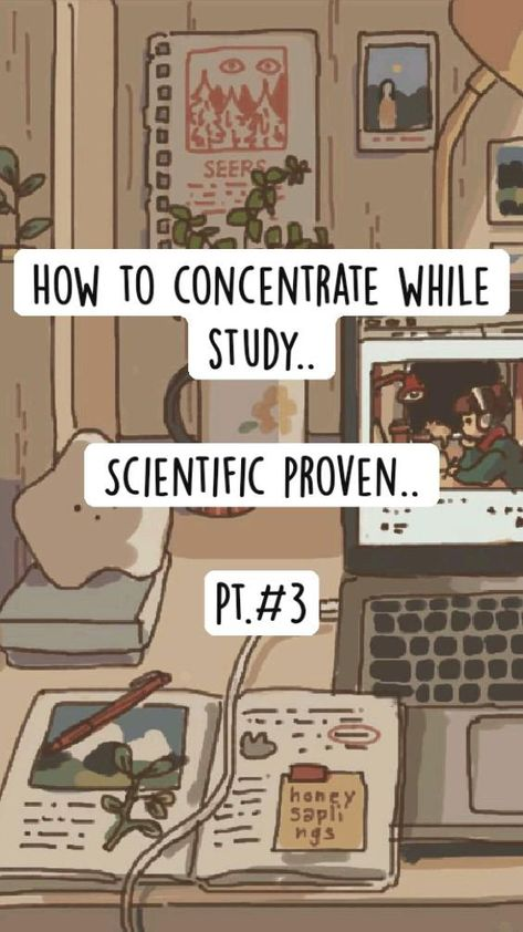 How to concentrate while study..   Scientific proven..  Pt.#3