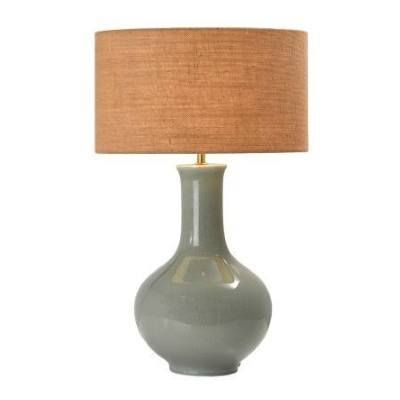 TH55L Chartreuse Gourd Shaped Lamp