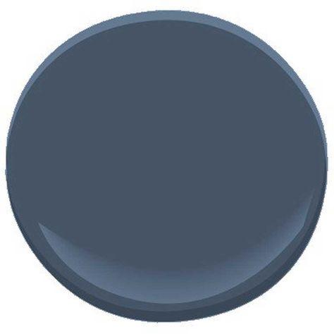 Benjamin Moore Newburyport Blue... by Benjamin Moore   Havenly