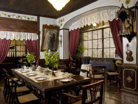 Dining Room Philippines Philippine Filipino Pilipinas Pinas Pinoy House Houses Asian Asia Traditional Design Interior Home