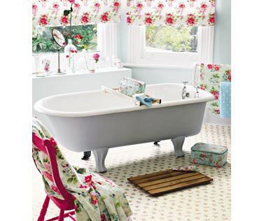 Best Floral Bathroom Ideas Images On Pinterest Bathroom - Floral bath towels for small bathroom ideas