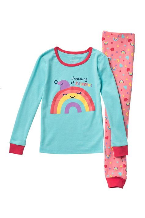 Joe Fresh | Dreaming of Rainbows Pajama Set (Toddler Girls