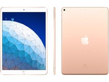 Ipad Air Apple 4g 256gb Dourado 10 5 Retina Proc Chip A12 Câm 8mp Frontal 7mp Ios 12 Magazine Transportelayt Ipad Air Ipad Ios
