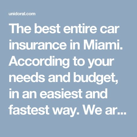 Online Insurance Quote Miami Online Insurance Car Insurance