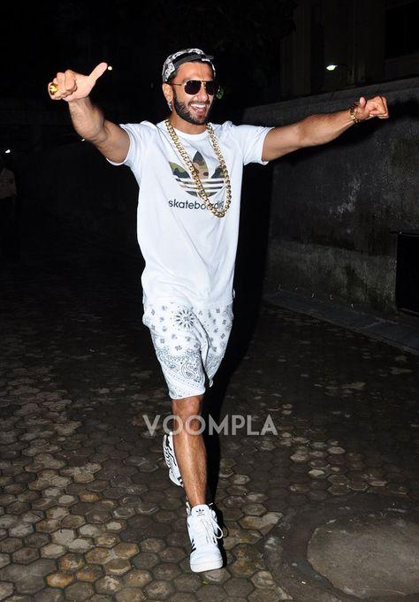 Gangsta! Ranveer Singh's total gangster look! via Voompla.com