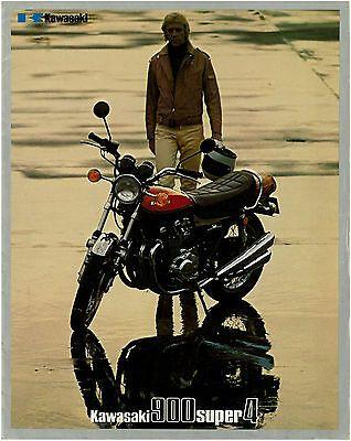 Advertisement Ebay Kawasaki Brochure Z1 1972 1973 Kz900 Sales Catalog Catalogue Repro Kawasaki Bikes Kawasaki Motorcycles Kawasaki