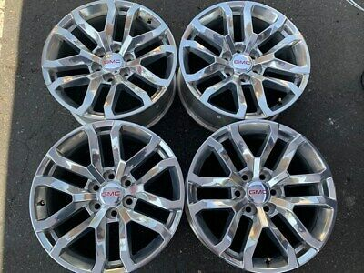 Advertisement Ebay 2019 Gmc Sierra Yukon Factory 20 Wheels Oem