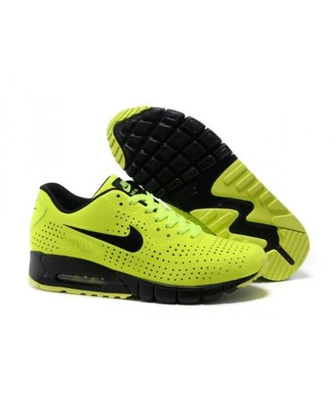 best website bc257 7c260 Mens Nike Air Max 90 Current Moire Yellow Black 6809331-153