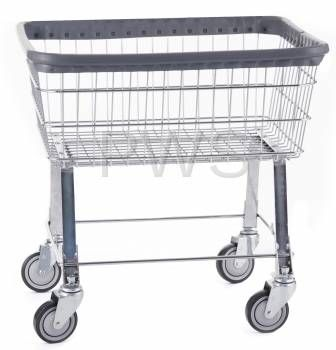 Discount Wholesale Prices On R B 96b Economy Laundry Cart Chrome