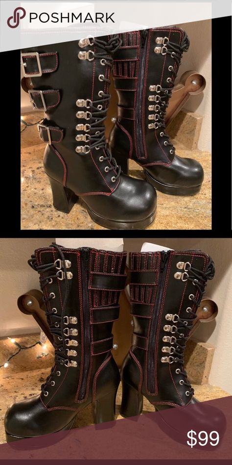 New Maiden Pleaser Boots New Maiden Pleaser Boots Shoes Lace Up Boots