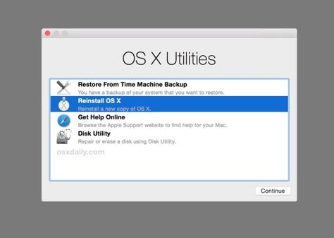 How To Get Out Of Mac Os X Utilities