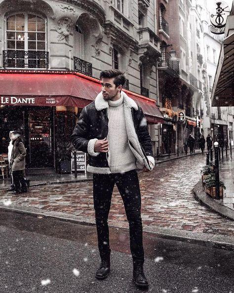 48 Flawless Men Black Jeans Ideas For Fall
