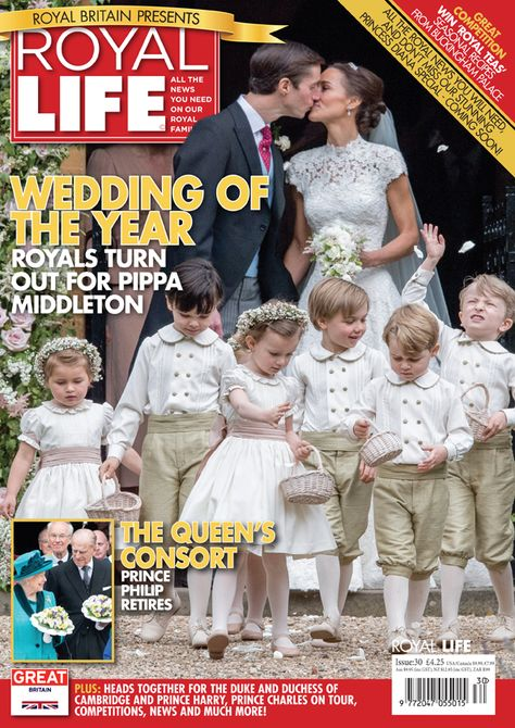 brand New Magazine The Royal Family Young Royals