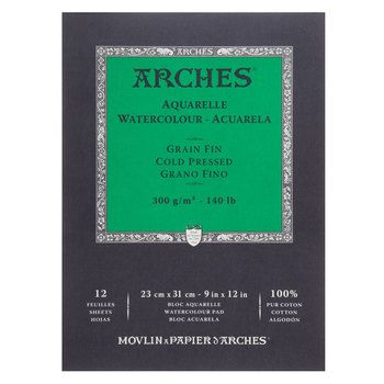 Arches Watercolor Paper Pad 9 X 12 This Is A Great W C Paper