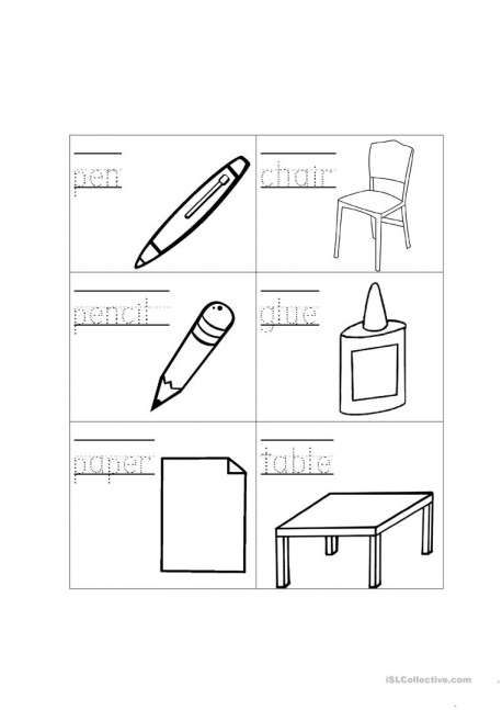17+ Kindergarten Classroom Objects Worksheet Learning Worksheets, Kindergarten  Worksheets, Kindergarten Worksheets Printable
