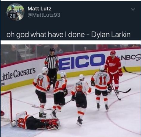Red wings hockey · broad street bullies are comin for ya hockey memes, funny hockey, hockey quotes, Hockey Baby, Hockey Goalie, Hockey Girls, Soccer, College Basketball, Flyers Players, Flyers Hockey, Hockey Players, Funny Hockey Memes