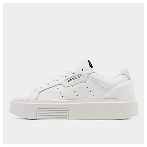 Women's originals sleek super casual shoes, white in 2020