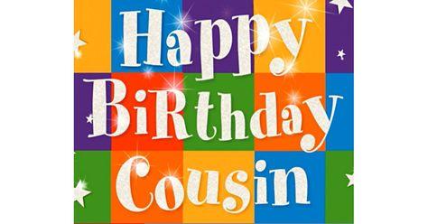 Happy Birthday, Cousin Ecard