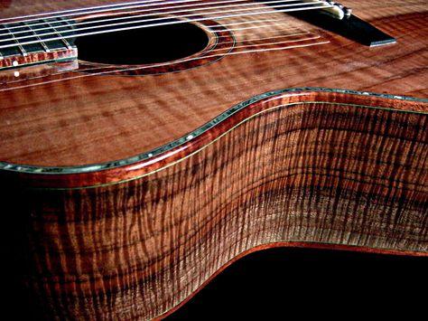 Burl Wood Guitar Just Cant Replicate The Detail Of Nice Burl Luthier Guitar Acoustic Guitar Guitar Building