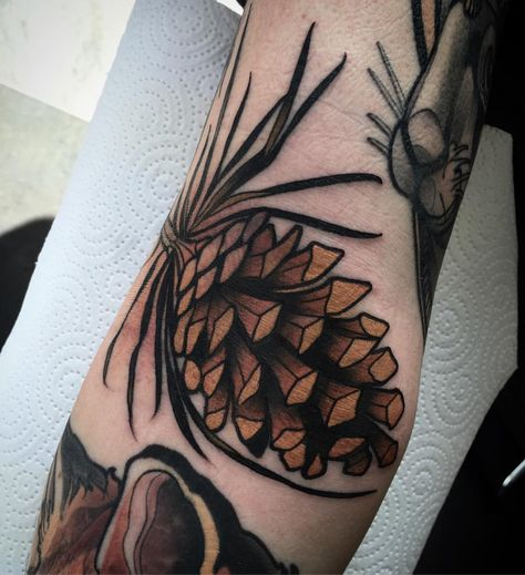 pine cone ditch-filler for max today to start the week. 😊 thanks a lot julia for the warm welcome (hier: Embers Lane)