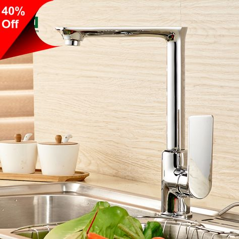 LEDEME Kitchen Faucets Brass Pull Out
