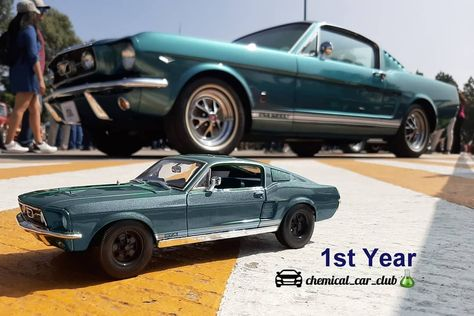 """Chemical Car Club on Instagram: """">1° Aniversario de """"Chemical CarClub #firstanniversary #1year #diecast #diecastphotography #mustang #ponycar #musclecars #MustangGt #GTA…"""""""